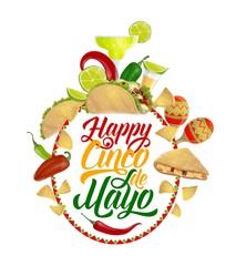 Cinco de Mayo food, drink. Mexican holiday party
