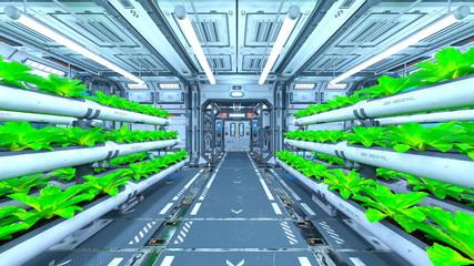 宇宙船内部