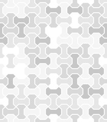 Seamless light background for your designs. Modern ornament. Geometric abstract pattern