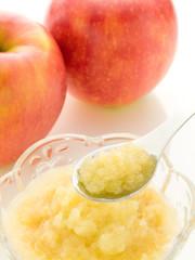 リンゴ りんご すりおろし すりおろしりんご