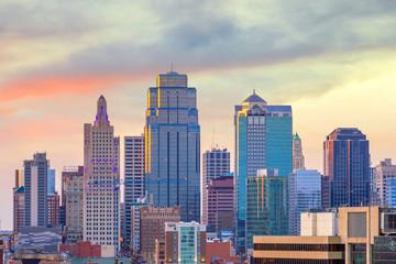 Wall Mural - View of Kansas City skyline in Missouri