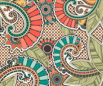 Bright zentangle doodle antistress pattern