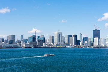 Photo sur Toile Chicago 東京ベイエリアの風景 scenery of tokyo bay area