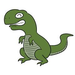 vector of dinosaur