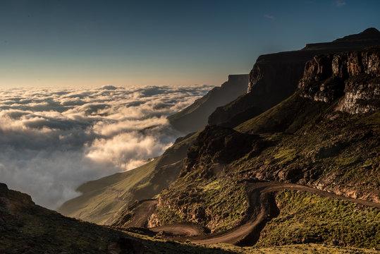 Sani Pass. Lesotho