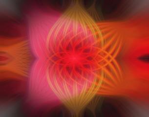 Fractal texture wallpaper, abstract flower.