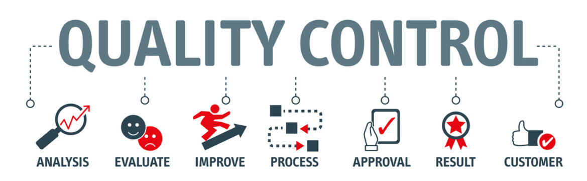 Quality Control Concept - Vector Illustration