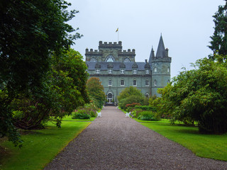Inveraray Castle in Schottland