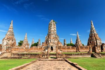 Wat Chaiwatthanaram in the city of Ayutthaya