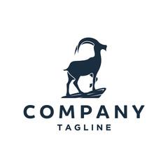 mountain goat logo designs