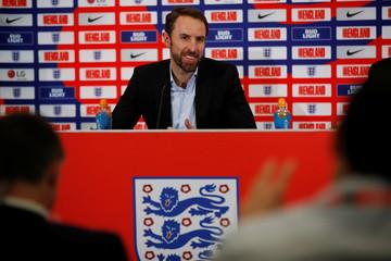 England - Gareth Southgate - Squad announcement press conference