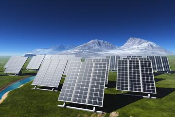 The solar battery