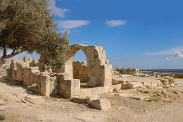 The archaeological site of Kourion  - Cyprus
