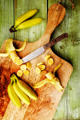 bananen staude