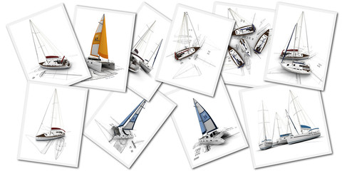 Sailboats design projects