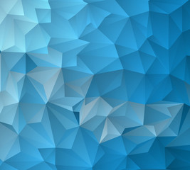 Light blue vector modern geometrical abstract background. Texture, new background.