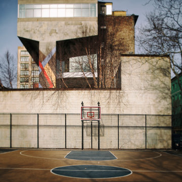 Basketball Court Architecture