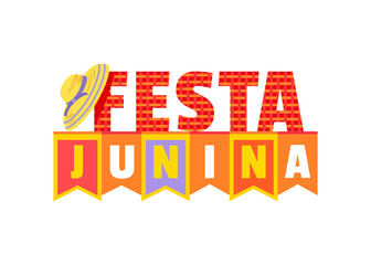 Festa Junina decorative signboard