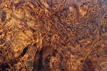 Real burl wood striped for Picture prints interior decoration, Exotic wooden beautiful pattern for...