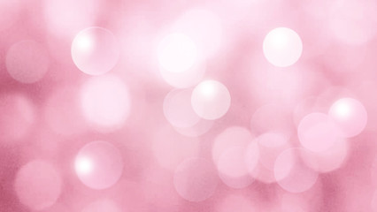 Pink abstract background with bokeh