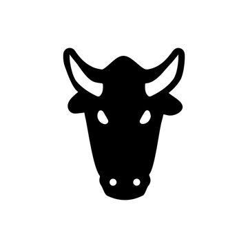 Bull icon. Energy sign