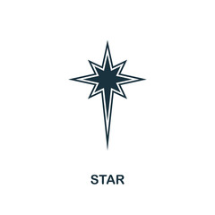 Star icon. Creative element design from easter icons collection. Pixel perfect Star icon for web design, apps, software, print usage