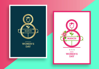 International Women's Day Flyer Layout