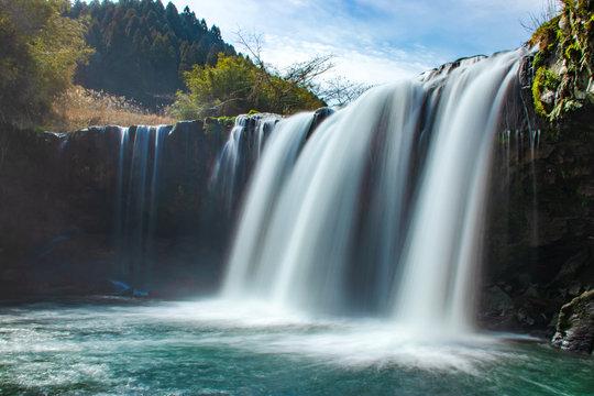 仙洞の滝 大分県九重町