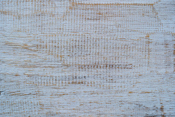 Old vintage white wood texture background, closeup