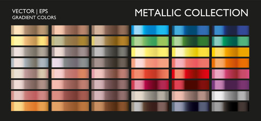 Holographic multicolor palette set. Vivid color gradient for screen, mobile, banner, tag, label template.  Wall mural