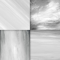 Gray paint background set