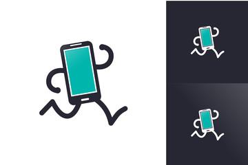 Run Gadget Logo Inspirations Template