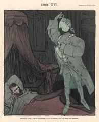 Satire of Tsar Nicolas Ii and King Louis Xvi