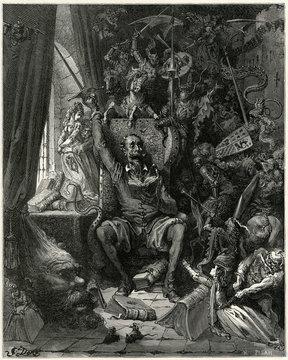 Don Quixote Relives His Past Glories