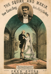 The Squire and Maria, Song SheeT Cover
