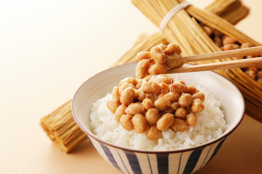 納豆 Japanese food Natto