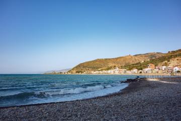 pebbles beach in Sicily Italy