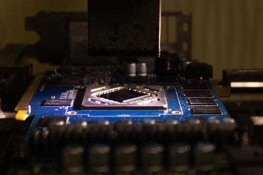 video card repair bga