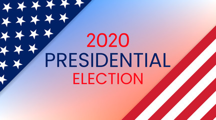 United States of America Presidential Election 2020. Vector