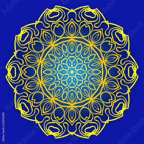 Abstract Geometric Flower Stylish Fashion Design