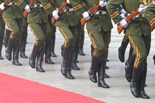 CHINE armée militaire communiste
