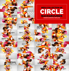 Mega collection of circle background