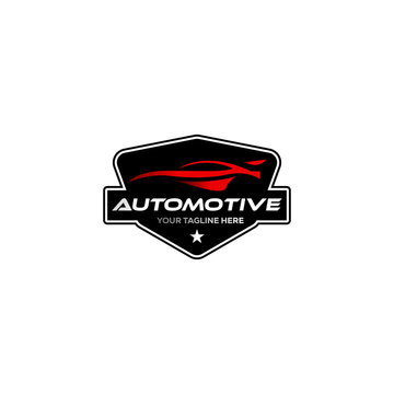 vintage / classic automotive logo designs with the badge