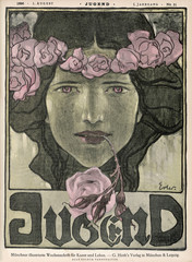 Woman Roses Jugend