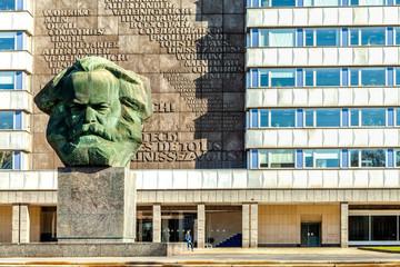 Wall Mural - Karl Marx Denkmal, Chemnitz, Deutschland
