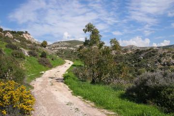 Petra-tou-Romiou nature trail, circular hiking trail- Cyprus (birthplace of Aphrodite)