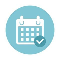 Ikona kalendarz - fototapety na wymiar
