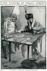 Anti German Cartoon, Map of Europe, Ww1