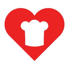 Kochhaube und Herz