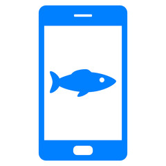 Fisch und Smartphone